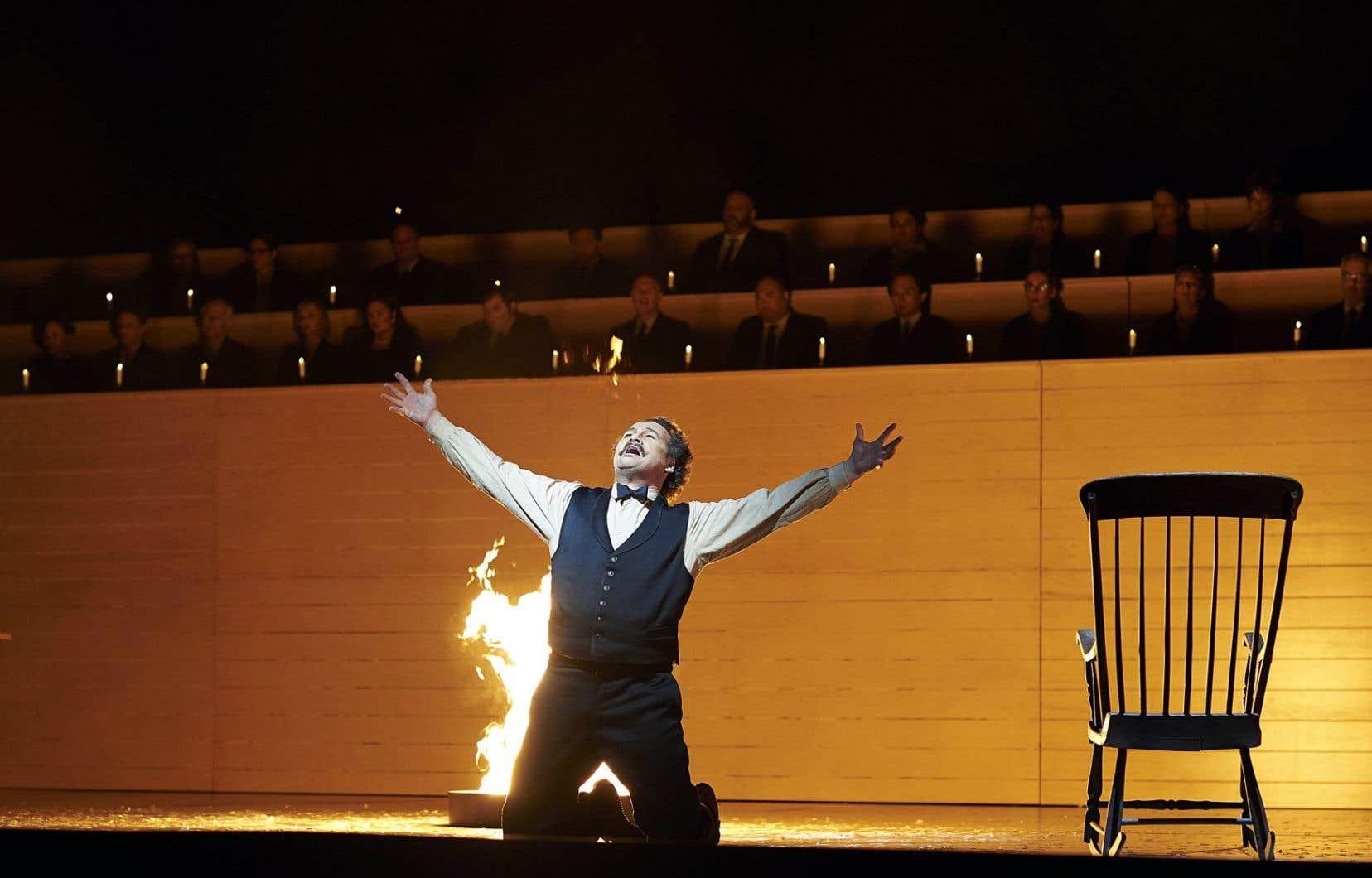 Créé en 1967, l'opéra «Louis Riel» reprend vie 50 ans plus tard.