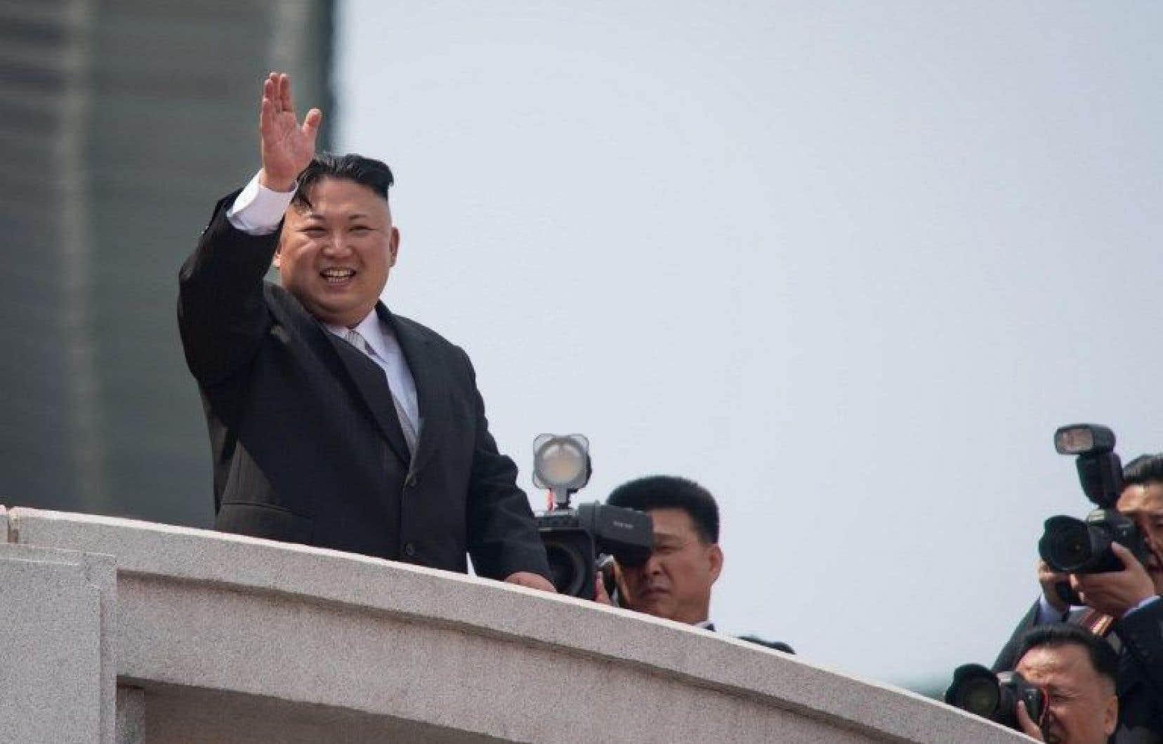 Le leader nord-coréen, Kim Jong-Un