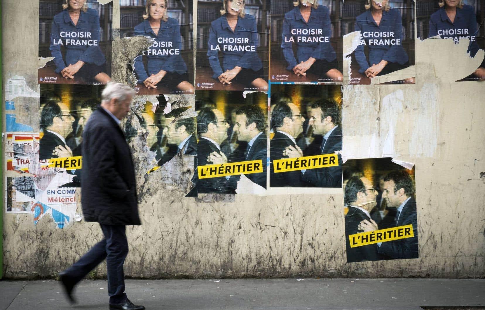 La candidate à la présidentielle française du Front national, Marine Le Pen, a affirmé vendredi qu'elle croyait pouvoir remporter une victoire-surprise ce dimanche, au terme du second et décisif tour de l'élection.
