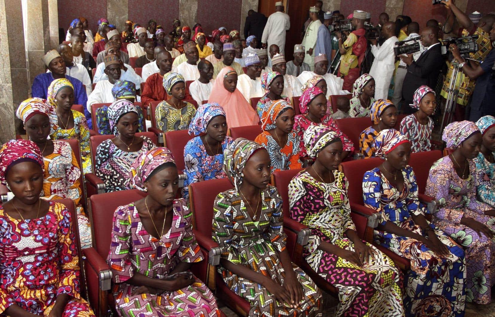 Quelque 200 jeunes filles ont été kidnappées par le groupe djihadiste Boko Haram en 2014.