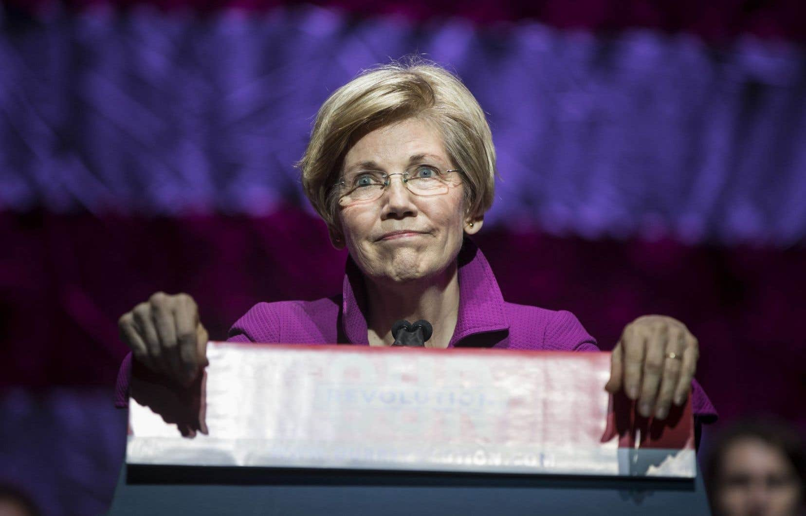 La sénatricedémocrate Élizabeth Warren