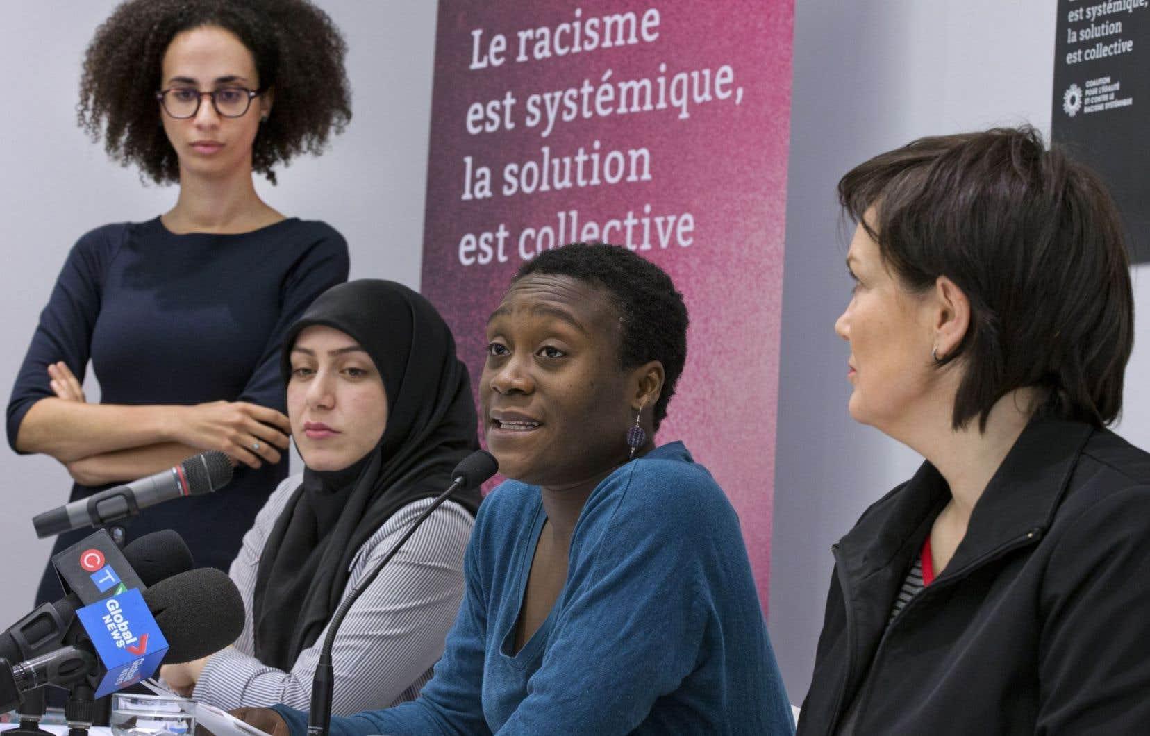 Des groupes ont demandé au gouvernement Couillard qu'il mette sur pied une commission sur le «racisme systémique».