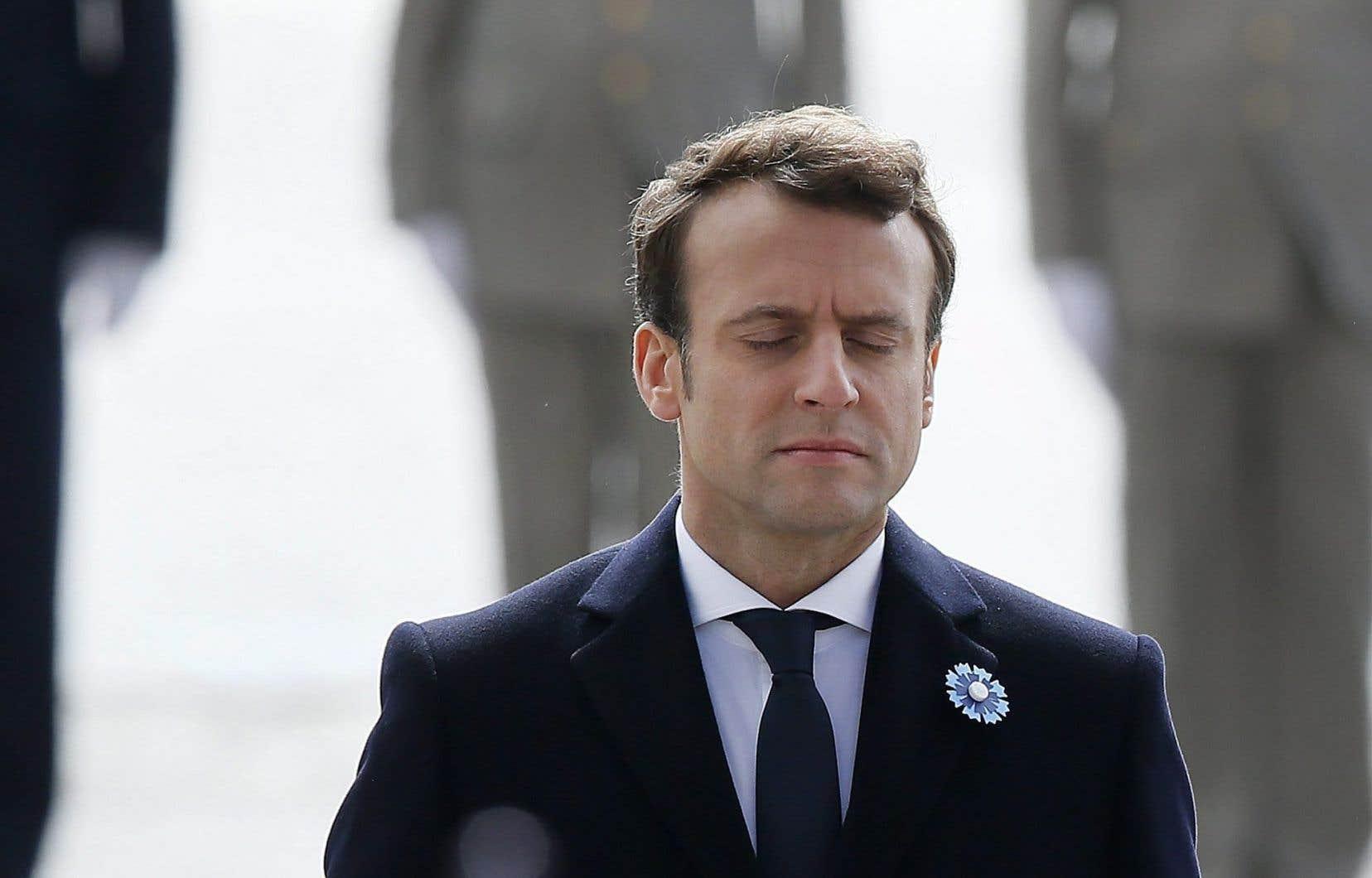 Le président désigné de la France, Emmanuel Macron
