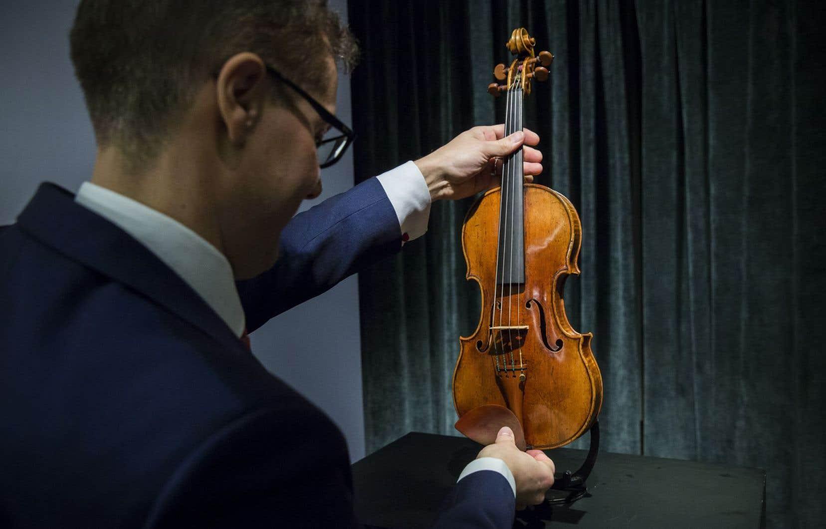 Ni les violonistes ni les auditeurs ne sont parvenus à distinguer systématiquement les Stradivarius des violons modernes.