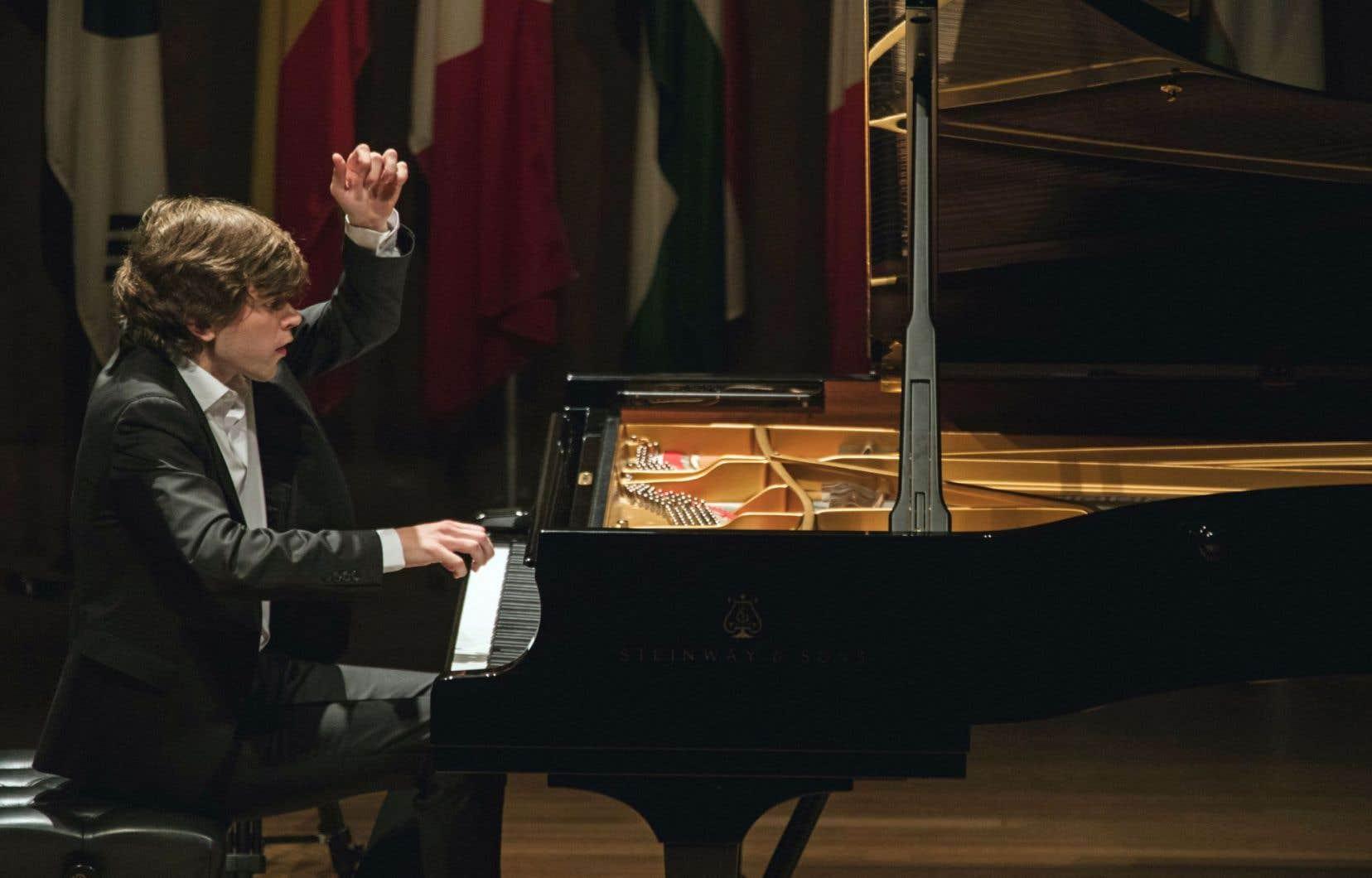 Albert Cano Smit a tenu le choc du concerto et bravé toutes les conditions adverses avec une sorte de grâce ailée
