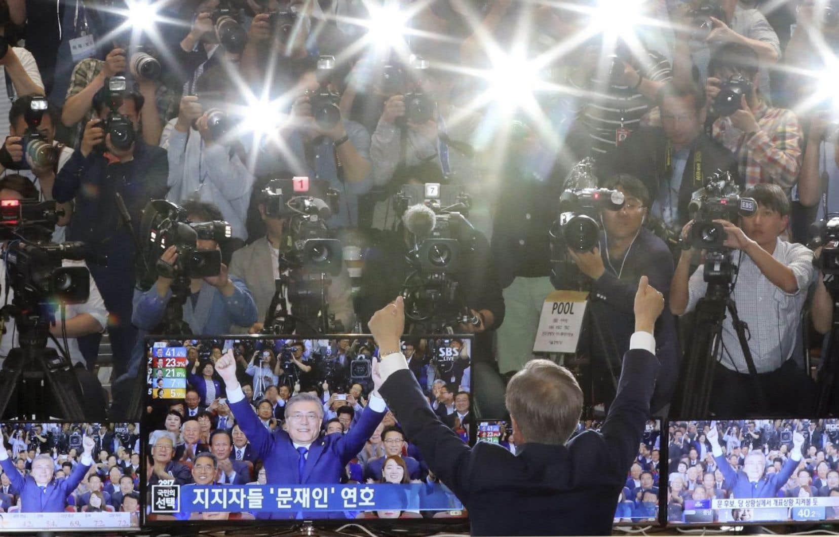 Les libéraux ont fait un retour à la présidence de la Corée du Sud avec l'élection de Moon Jae-in.