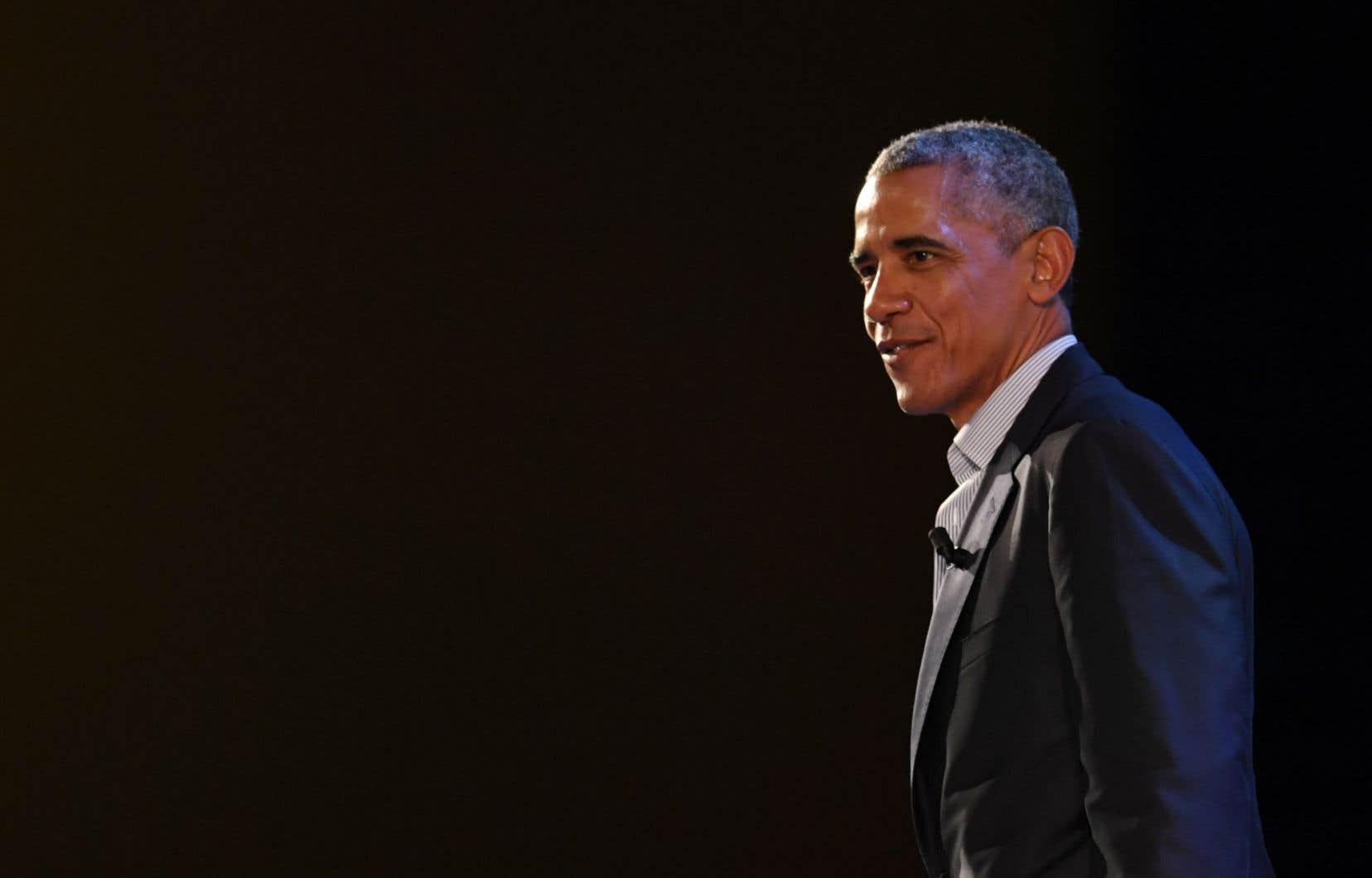 L'ancien président des États-UnisBarack Obama