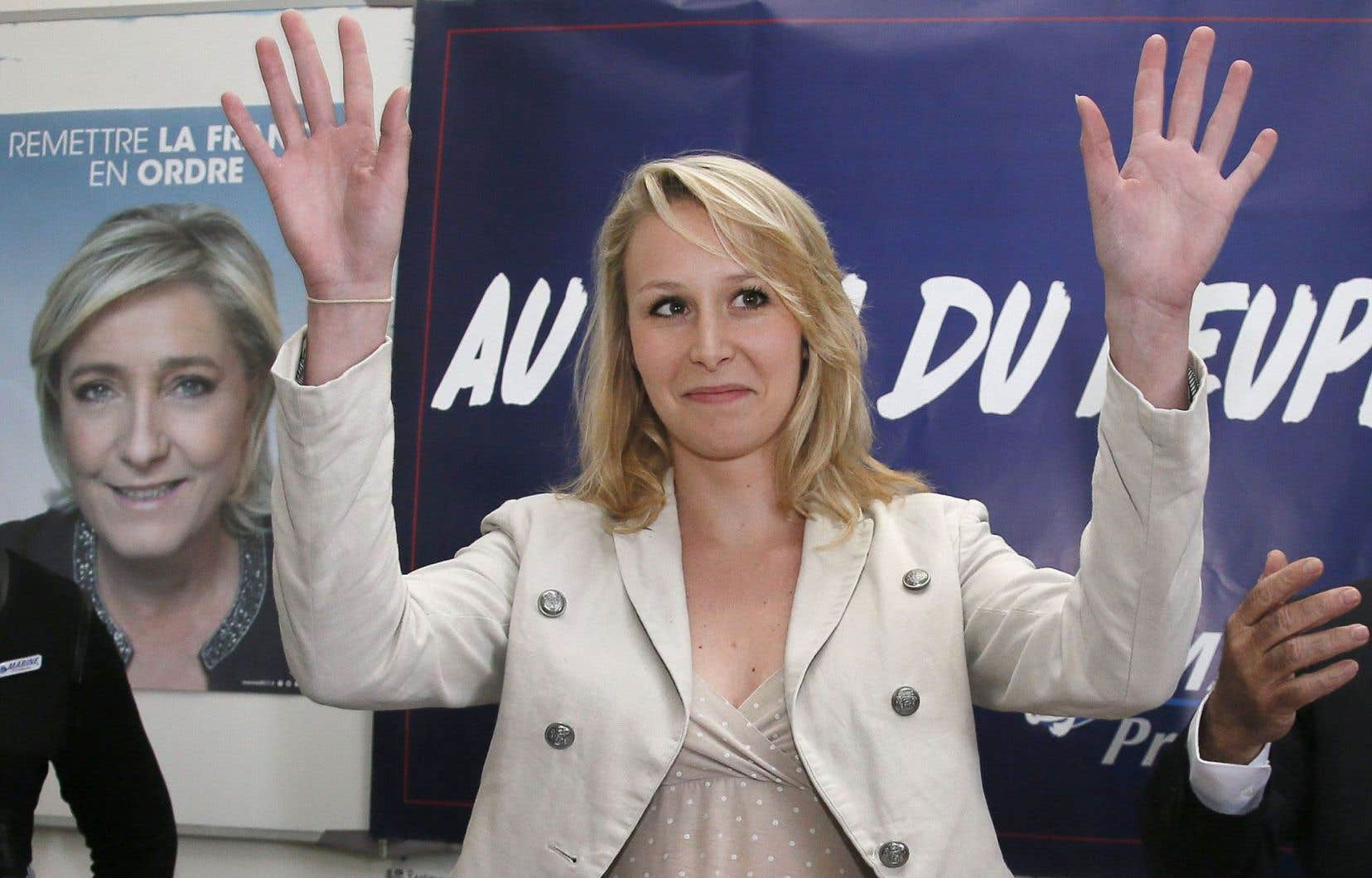 L'élue de 27 ans invoque des raisons personnelles, notamment sa «petite fille» de trois ans, mais aussi des «raisons politiques». Son grand-père, Jean-Marie Le Pen, a dénoncé sa «désertion».