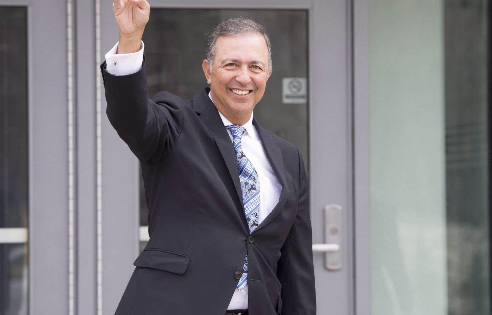 L'ex-député libéral de Louis-Hébert Sam Hamad