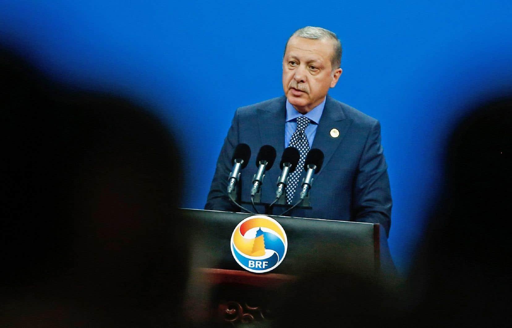 Le président turc sera de passage à Washington mardi.
