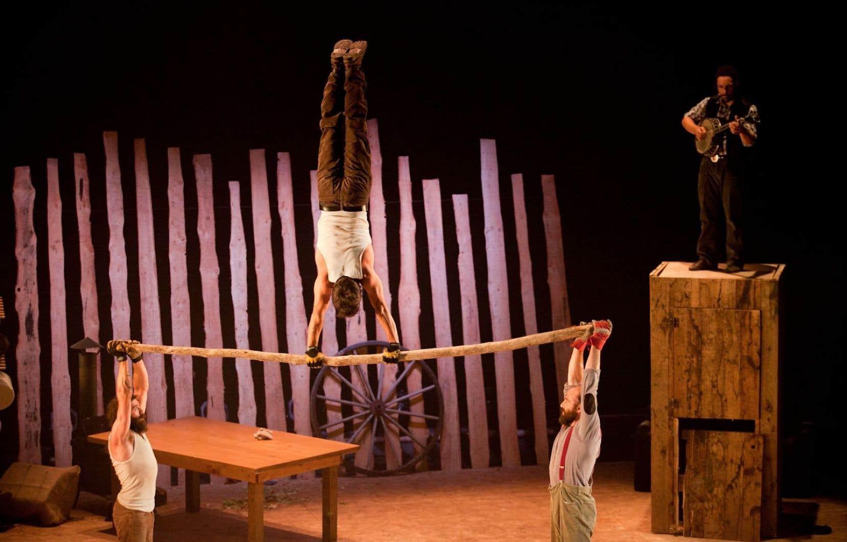 Spectacle «Timber» du Cirque Alfonse