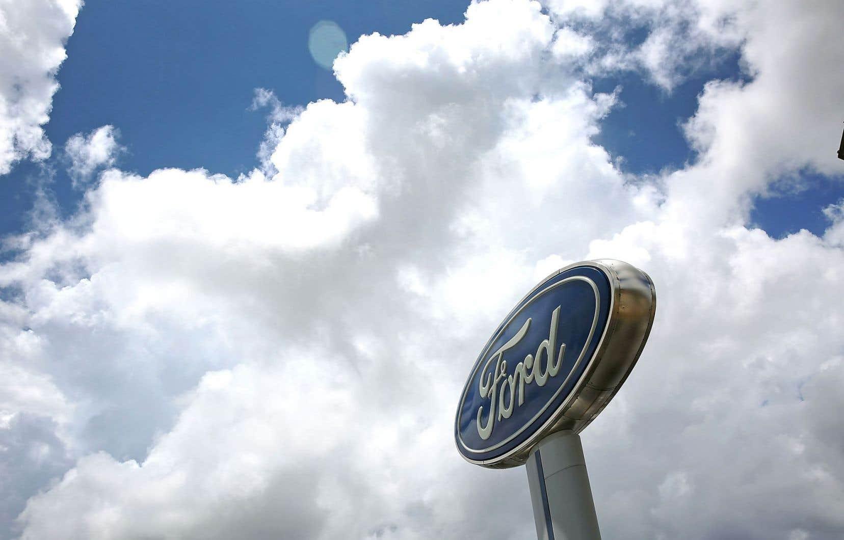 Ford espère que la cure d'austérité lui permettra d'économiser 3 milliards de dollars.