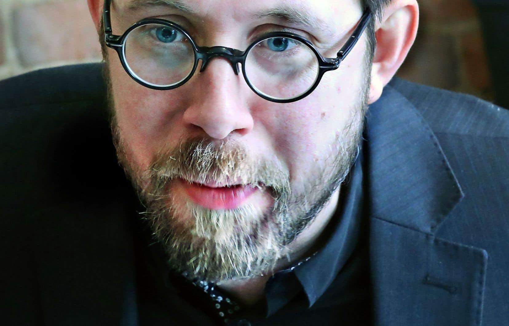 Le candidat au poste de porte-parole masculin de Québec solidaire, Jean-François Lessard