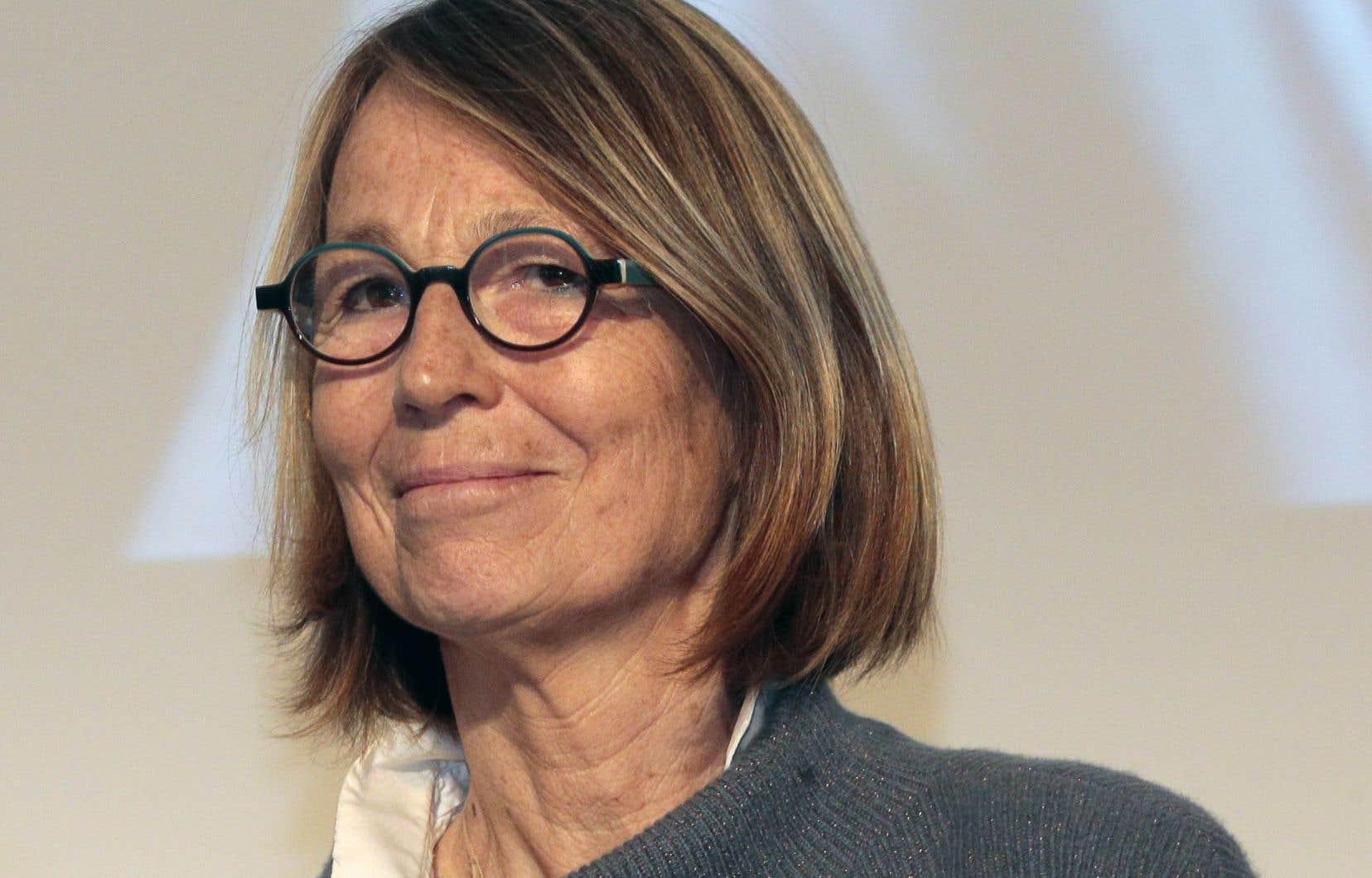 L'ex-directrice des Éditions Actes Sud et désormais ministre française de la Culture, Françoise Nyssen