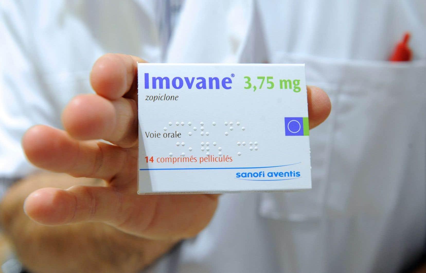 «Imovane» est le nom commercial du zopiclone, unsédatif hypnotique.
