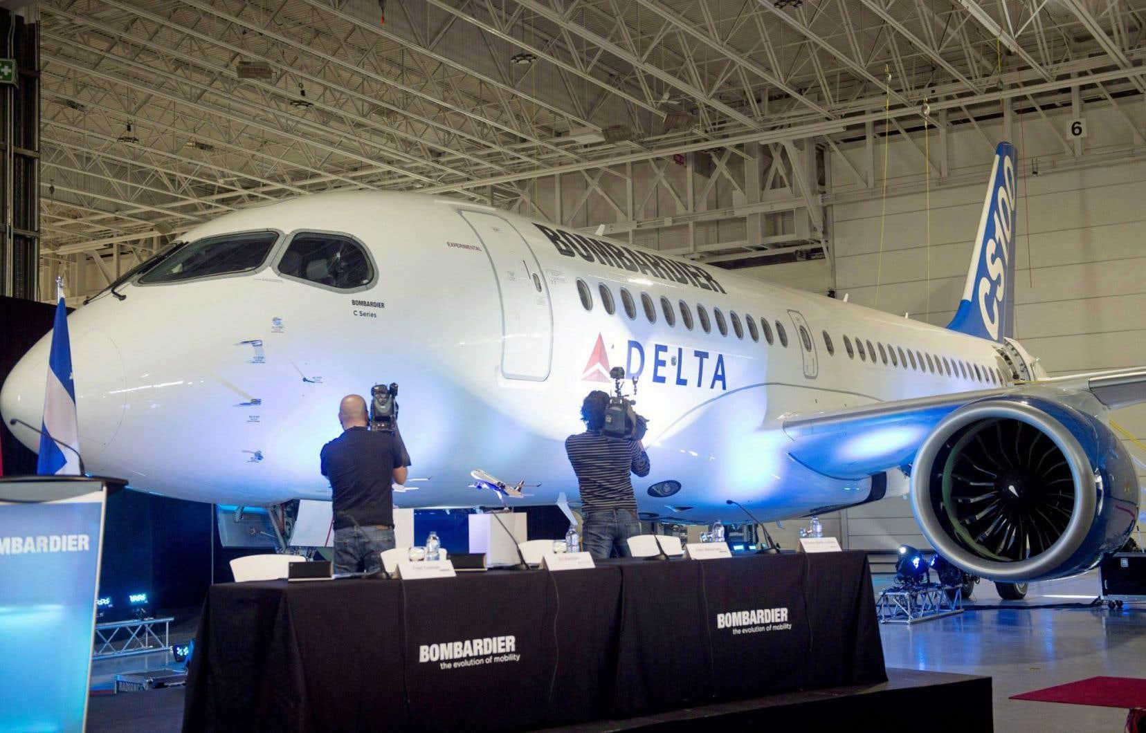 La vente de CSeries au rabais à Delta Air Lines est au cœur du conflit.