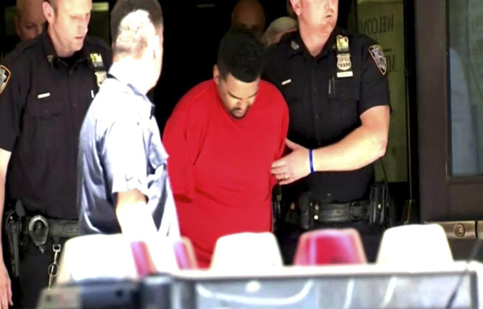 Richard Rojas, un ancien militaire de 26ans, a été accusé jeudi soir.