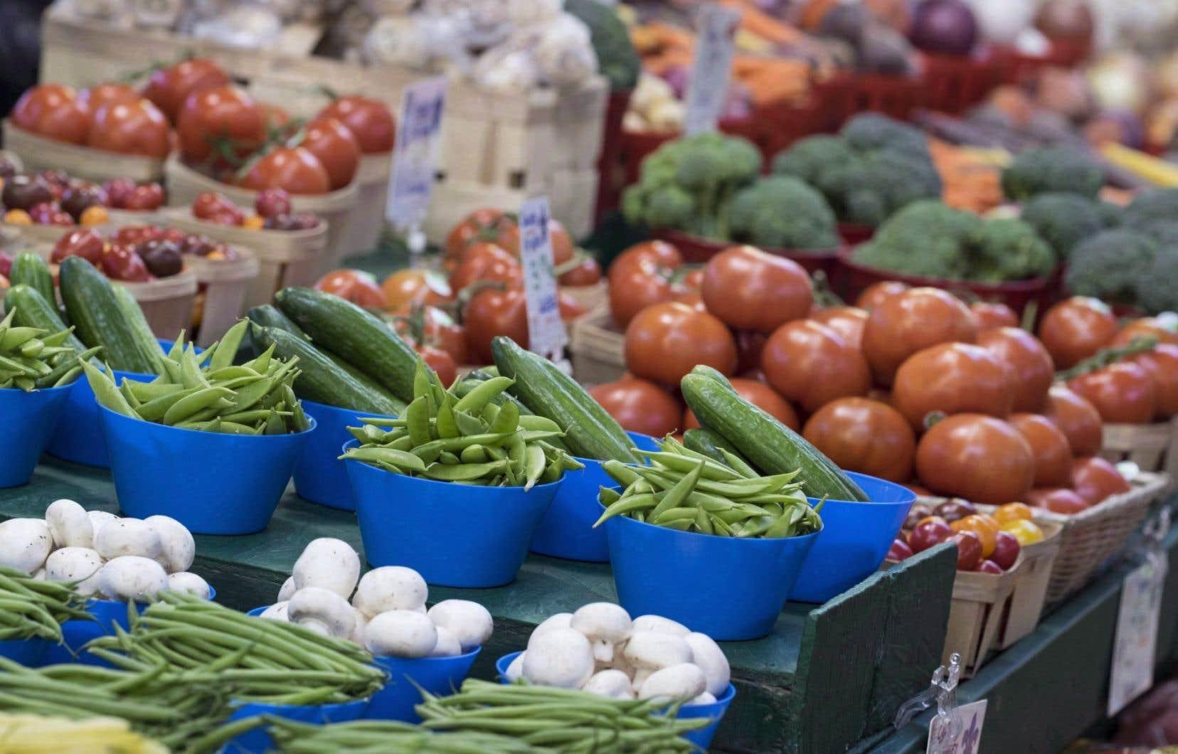 L'indice des prix des aliments a diminué d'une année à l'autre pour le septième mois consécutif.