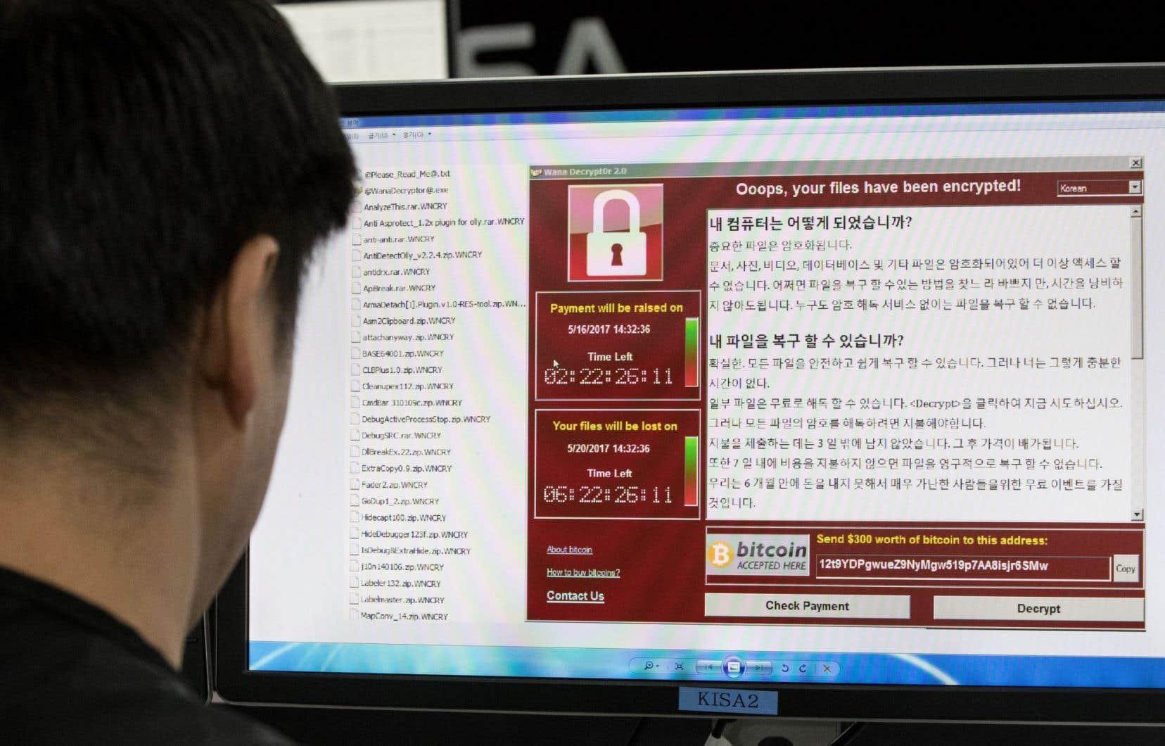 Des spécialistes de la sécurité informatique estiment avoir découvert un lien potentiel entre la Corée du Nord et la cyberattaque mondiale lancée vendredi dernier.