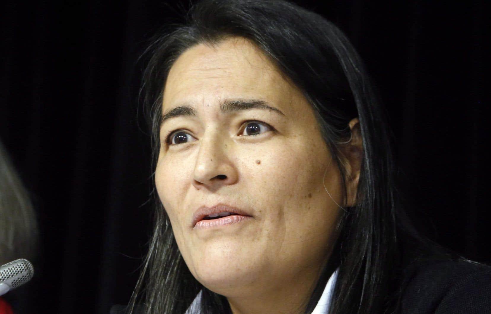 Michele Audette, commissaire de l'enquête nationale sur les femmes autochtones disparues et assassinées