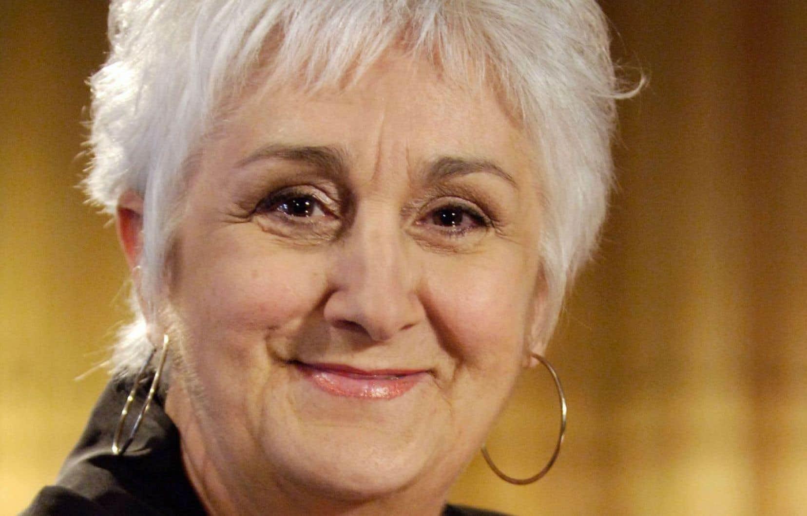 Nicole LeBlanc lors de son passage à l'émission «Viens voir les comédiens», en 2006