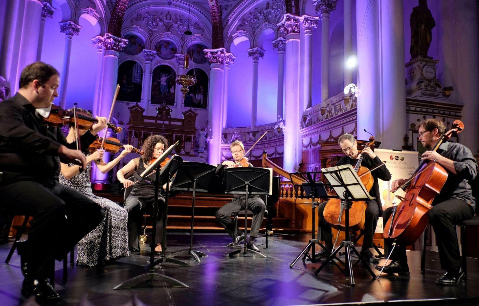 Le concert d'ouverture du festival aura lieu en l'église du Bic.