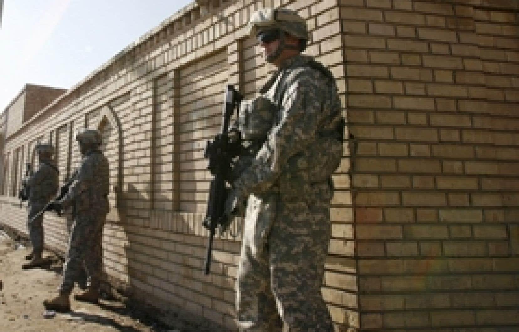 La présence d'une armée d'occupation est inacceptable aux yeux de très nombreux Irakiens.