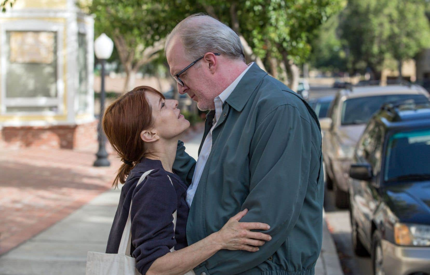 Melora Walters et Tracy Letts dans «The Lovers»