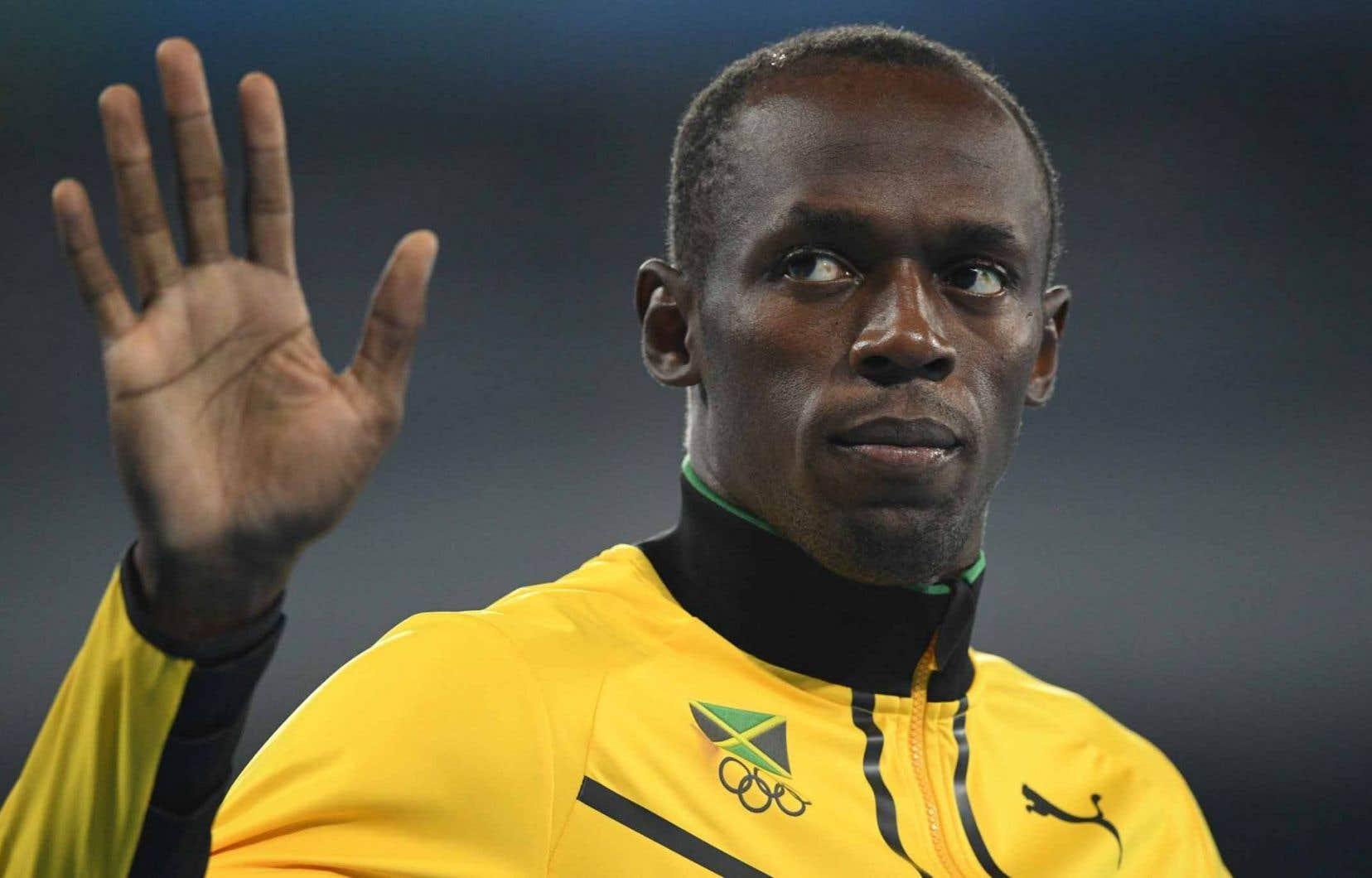 L'octuple champion olympique Usain Bolt
