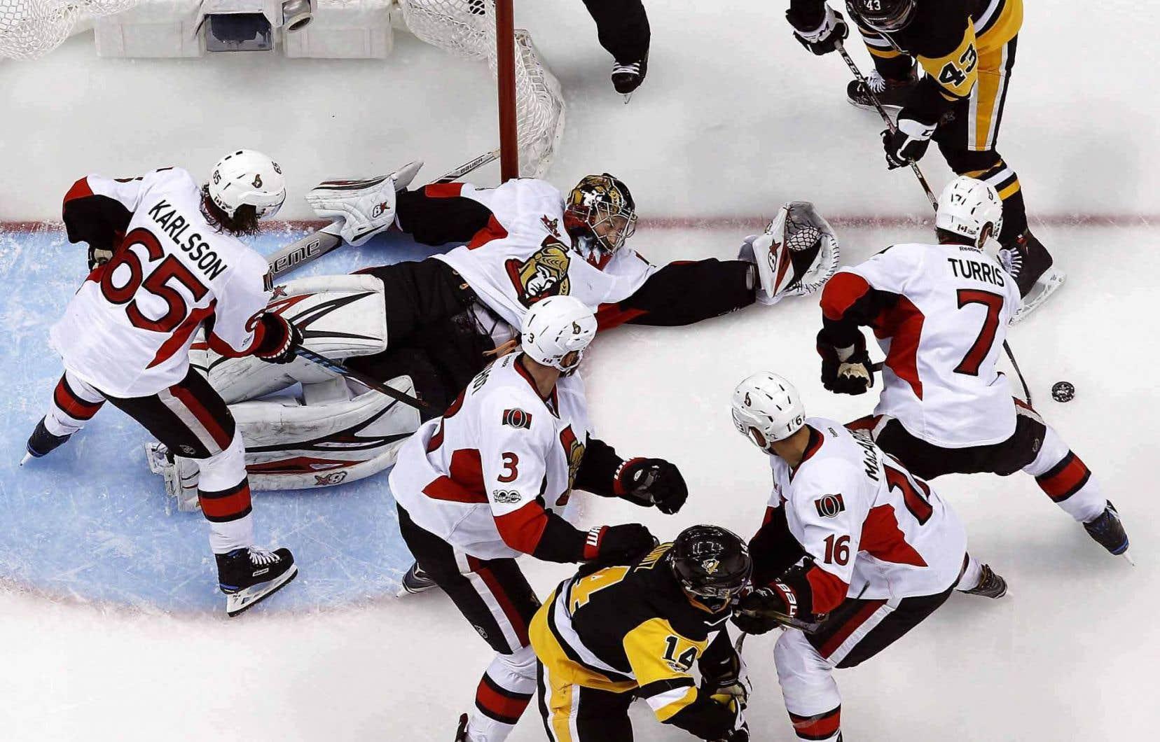 Les Sénateurs ont perdu 3-2 aux mains des Penguins de Pittsburgh, jeudi.