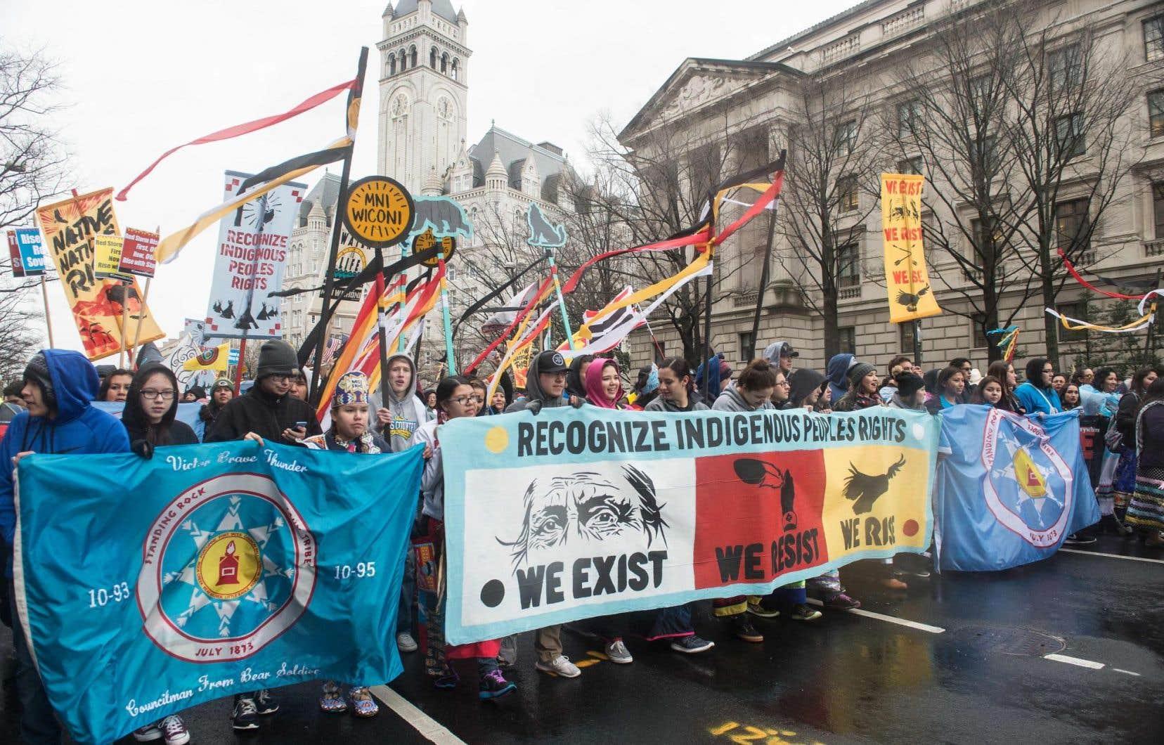 «Il y a fort à parier que les peuples autochtones du Québec défendront leurs terres avec la même ferveur et opiniâtreté que leurs homologues de Standing Rock au Dakota du Nord.»