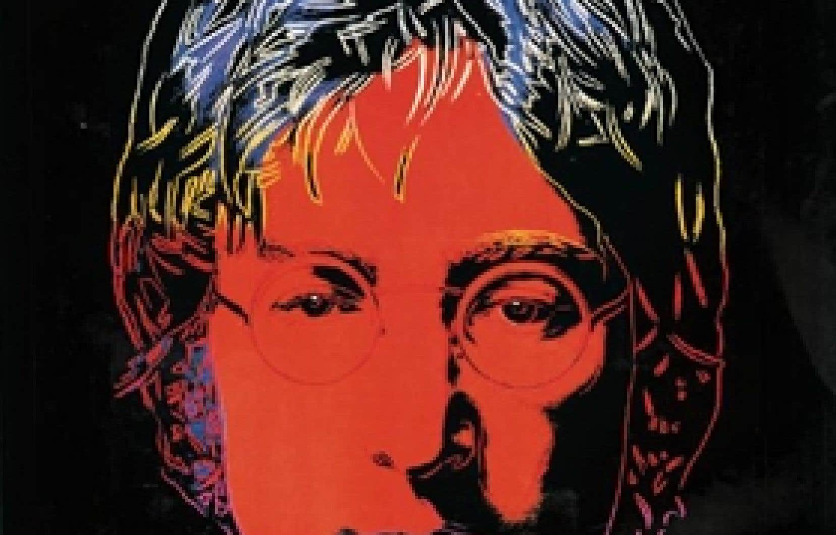 Pochette du disque de John Lennon Menlove Ave., 1986