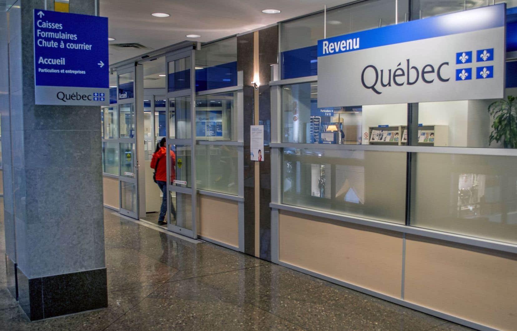 À certaines sociétés qui n'ont pas produit leur déclaration de revenus, Revenu Québec envoie des avis de cotisation dont les montants sont systématiquement fixés à 8000$.