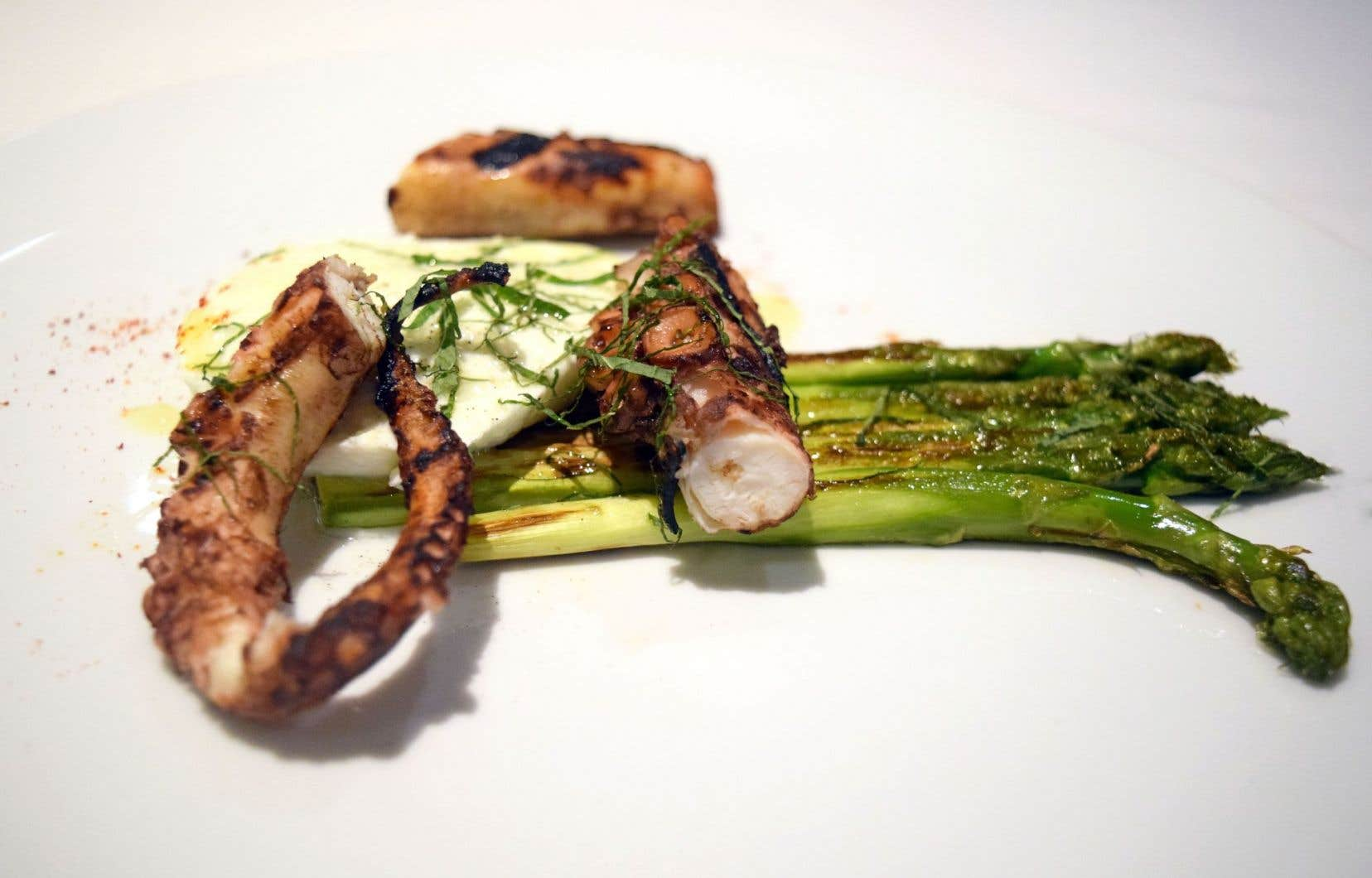 La recette d'Olivier Perret, chef du restaurant Renoir