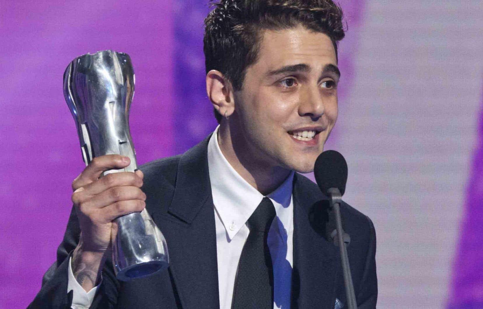 Xavier Dolan a récolté les prix Iris du Meilleur film et de la Meilleure réalisation.