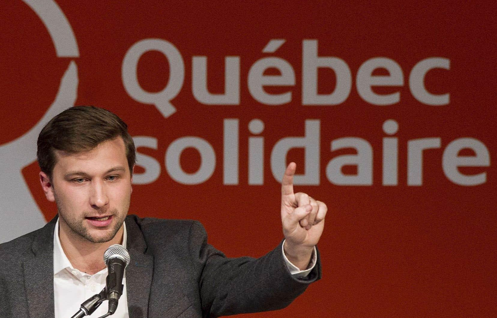 Gabriel Nadeau-Dubois ne compte pas «rester tranquille» et promet d'amener des «débats dérangeants» à l'Assemblée nationale.