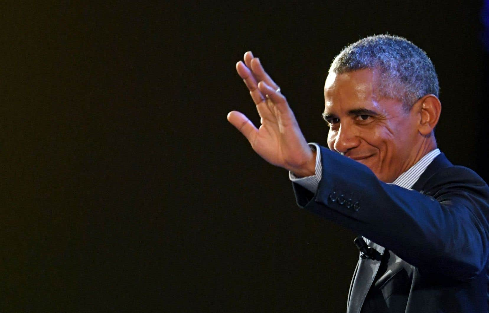 Barack Obama donnera une conférence ce mardi à Montréal.