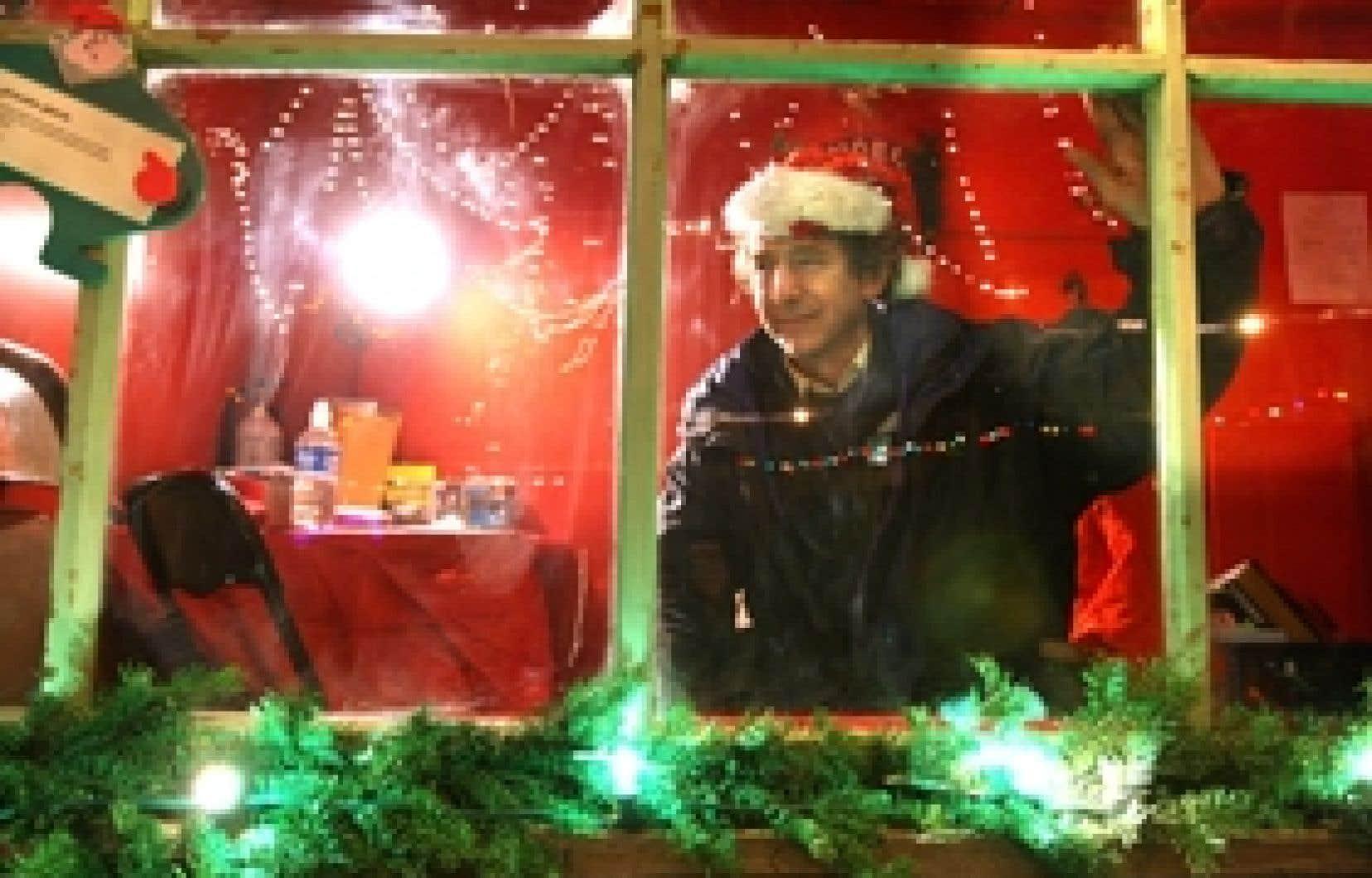 Reynald Bouchard, l'instigateur de Noël dans le parc: «Il y a une âme ici, une proposition qui peut te donner envie de vivre encore trois jours...»