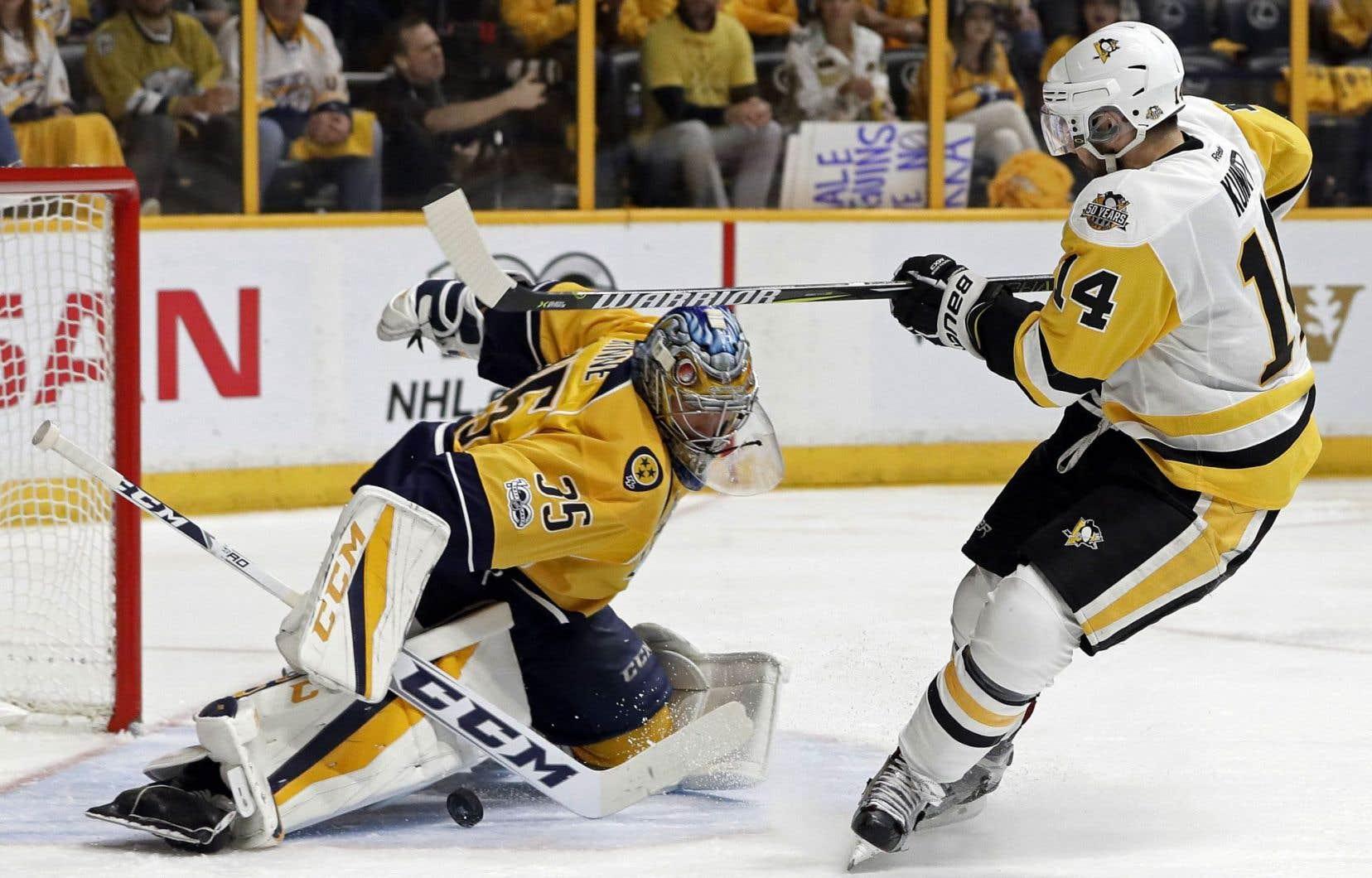 Les Predators ont réussi à museler la puissante attaque des Penguins pour un deuxième match de suite.