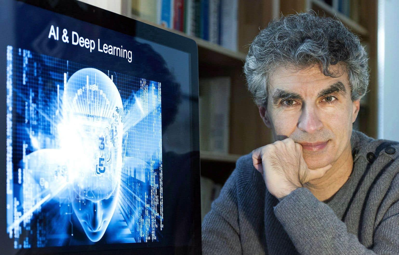 Selon Yoshua Bengio, les entrepreneurs qui misent sur l'intelligence artificielle ont aujourd'hui l'occasion de «changer le monde».