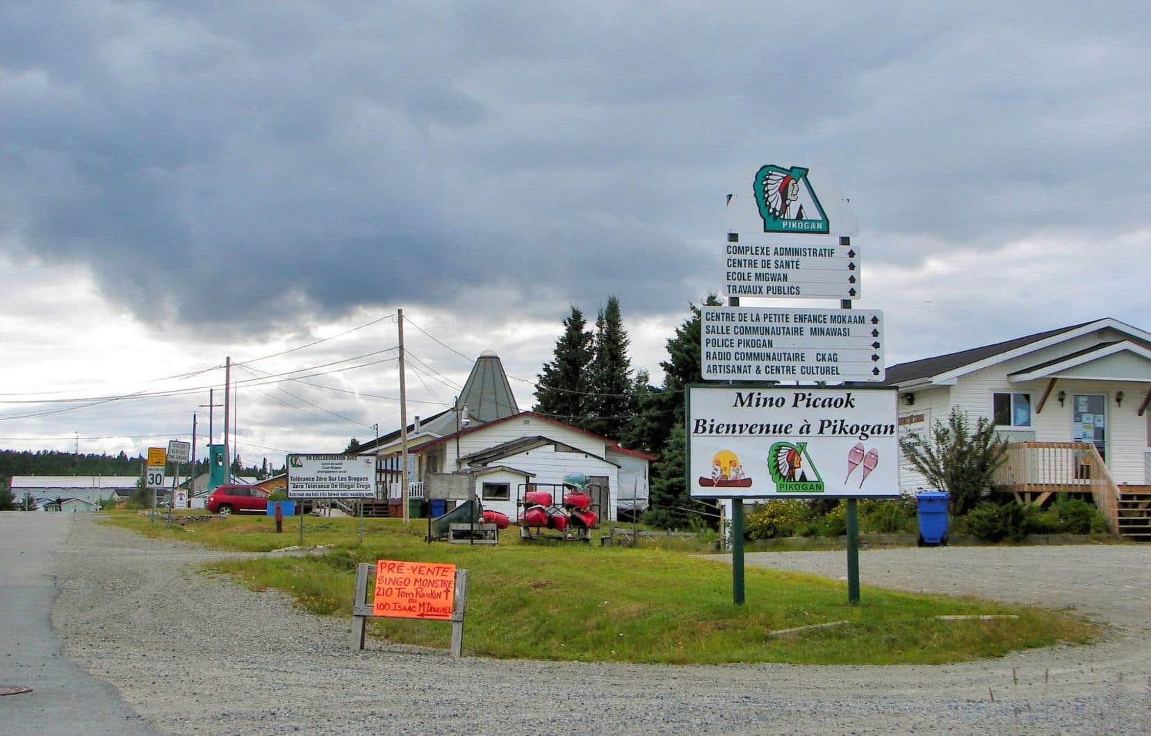 À Pikogan, le service de police compte 5 employés pour une communauté de 600 membres.