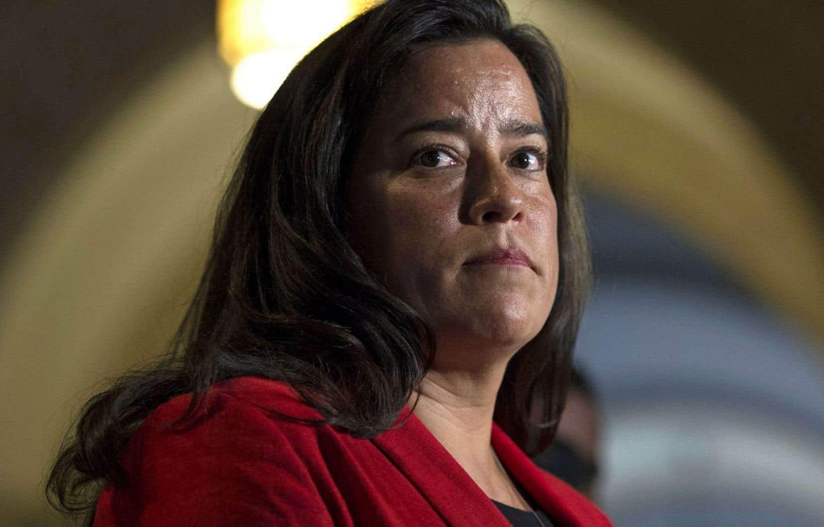 La ministre de la Justice, Jody Wilson-Raybould