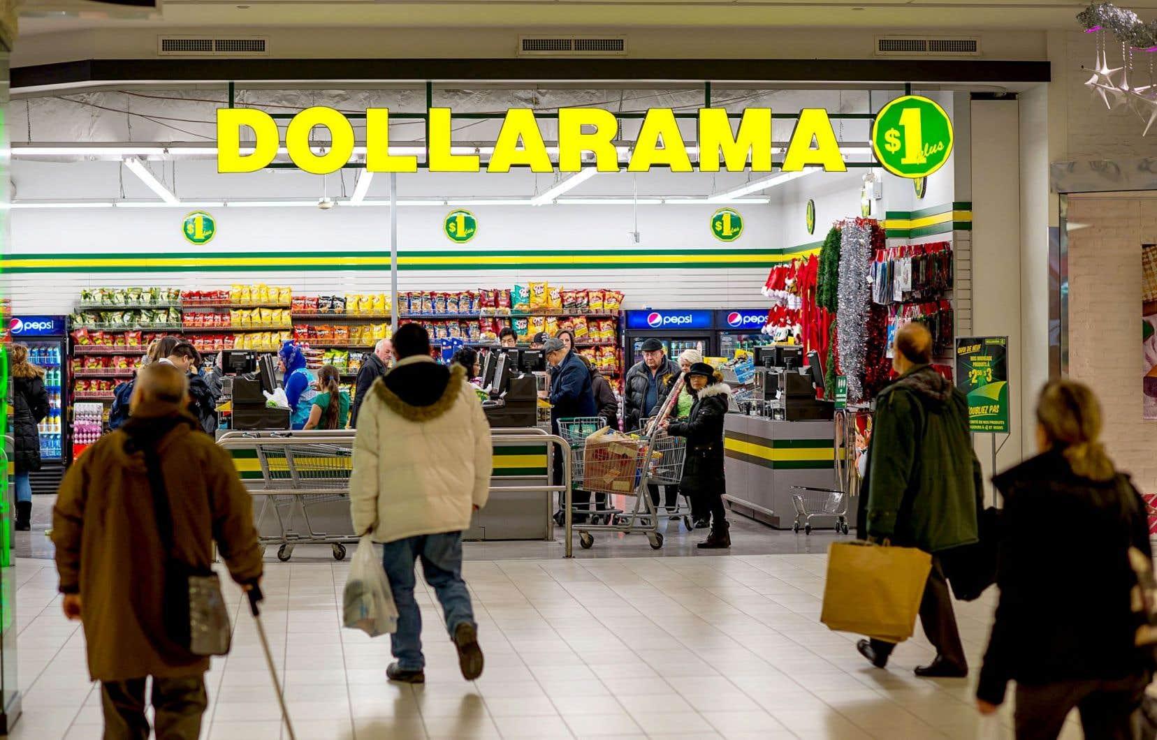 Dollarama a affiché mercredi un bénéfice de 94,7 millions pour son premier trimestre clos le 30 avril.