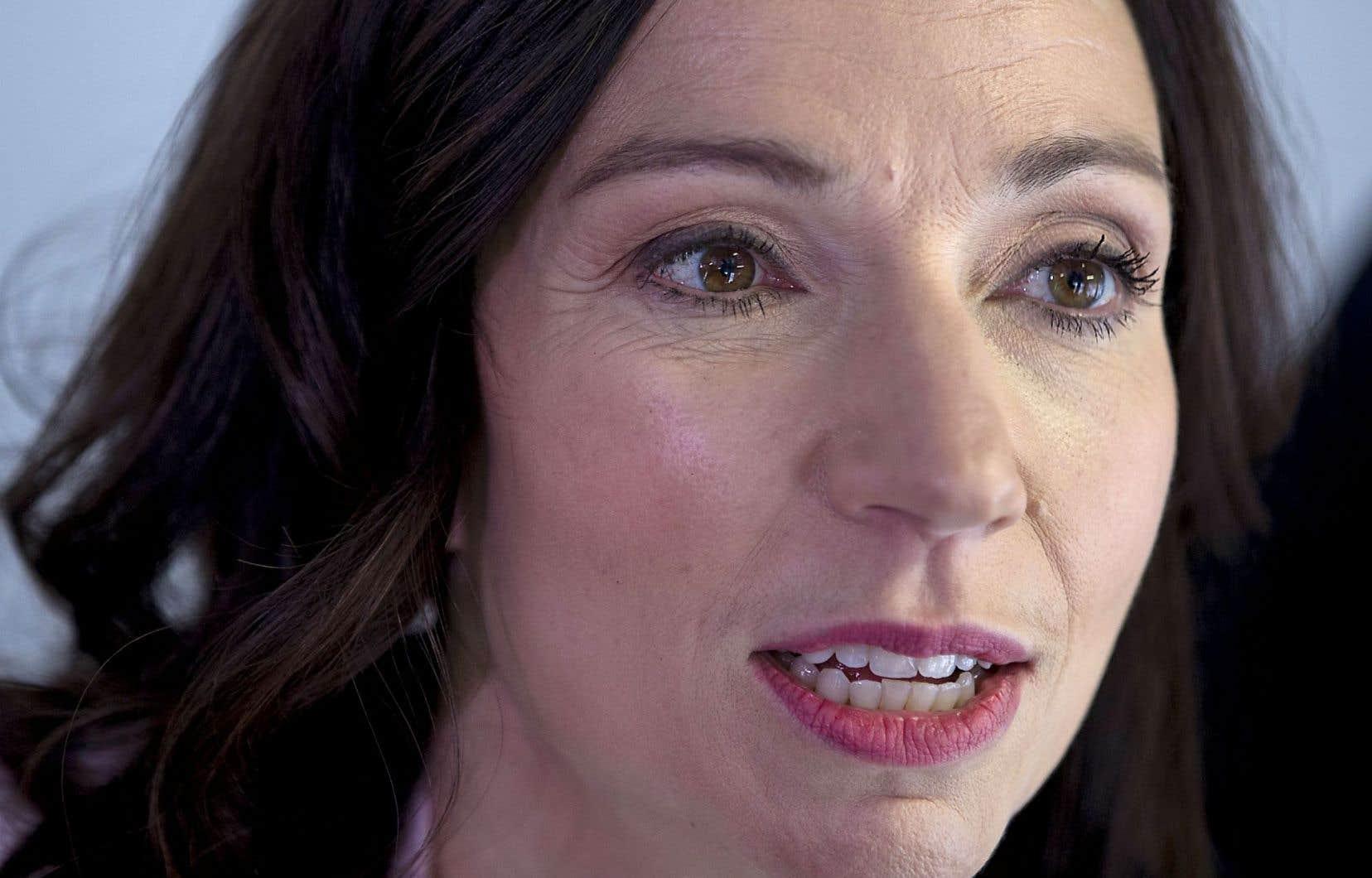 La chef du Bloc québécois, Martine Ouellet, est attendue de pied ferme par la majorité des membres de son caucus de députés.