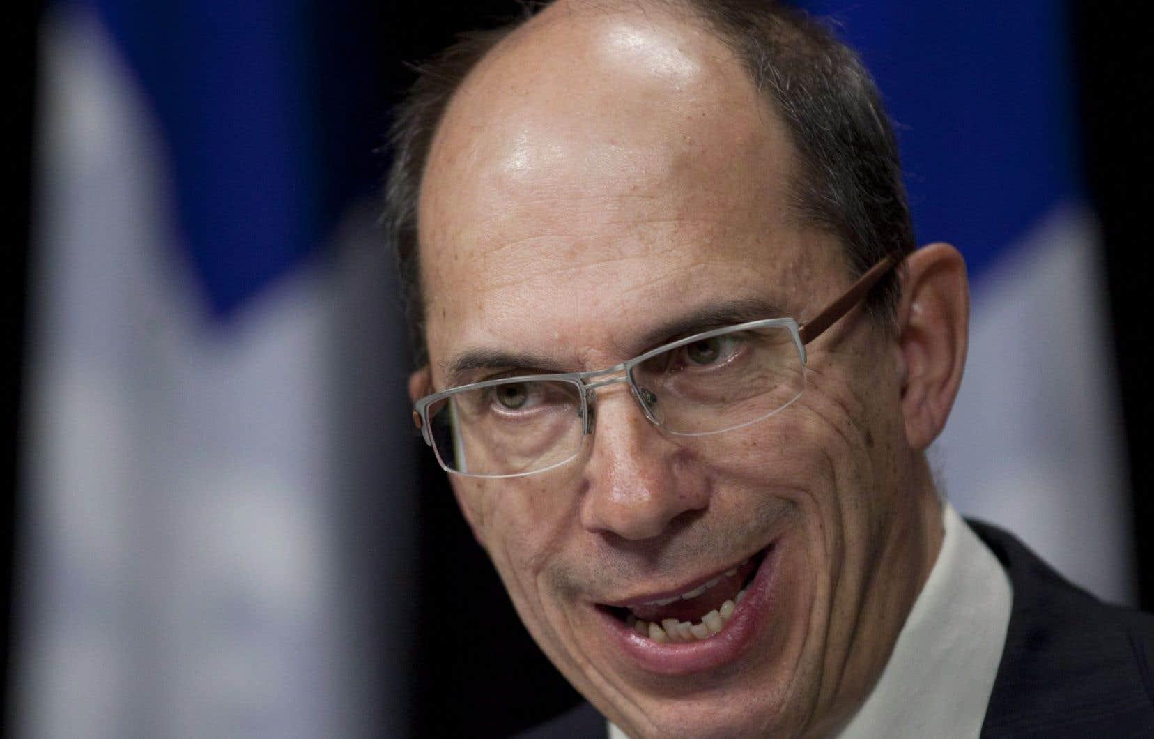 «Il faut que les bottines suivent les babines», souligne le commissaire au lobbyisme, Me François Casgrain.