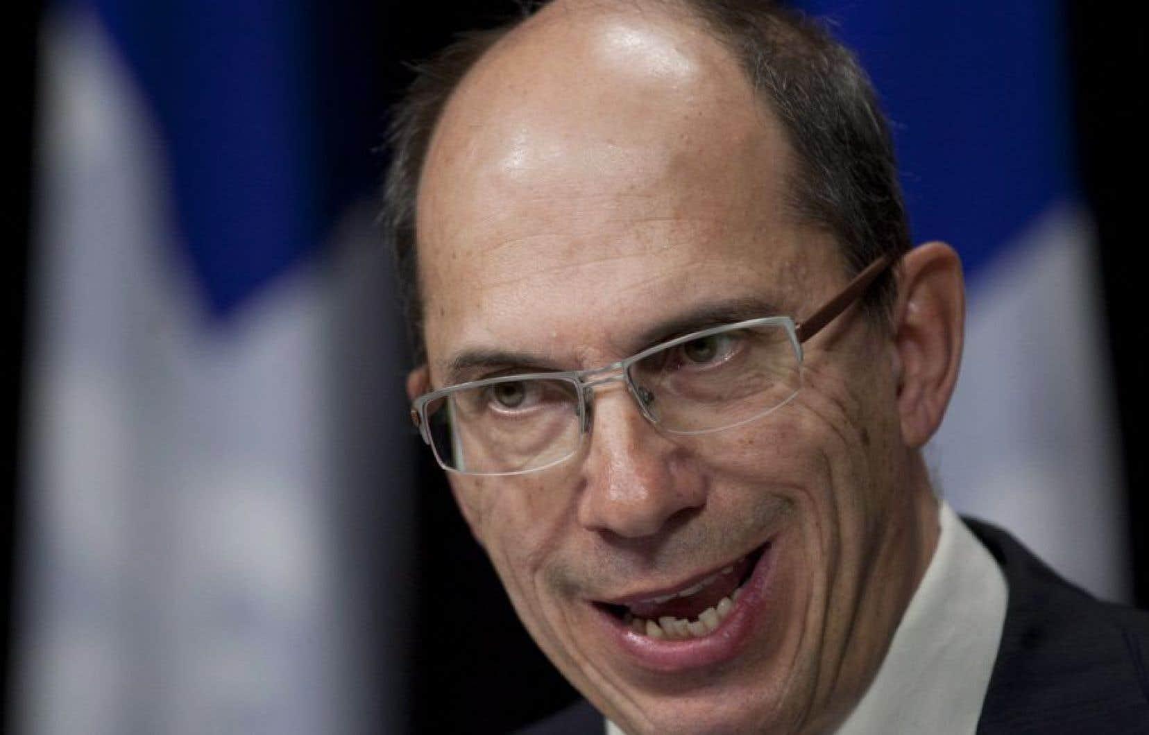 Le commissaire au lobbyisme, François Casgrain