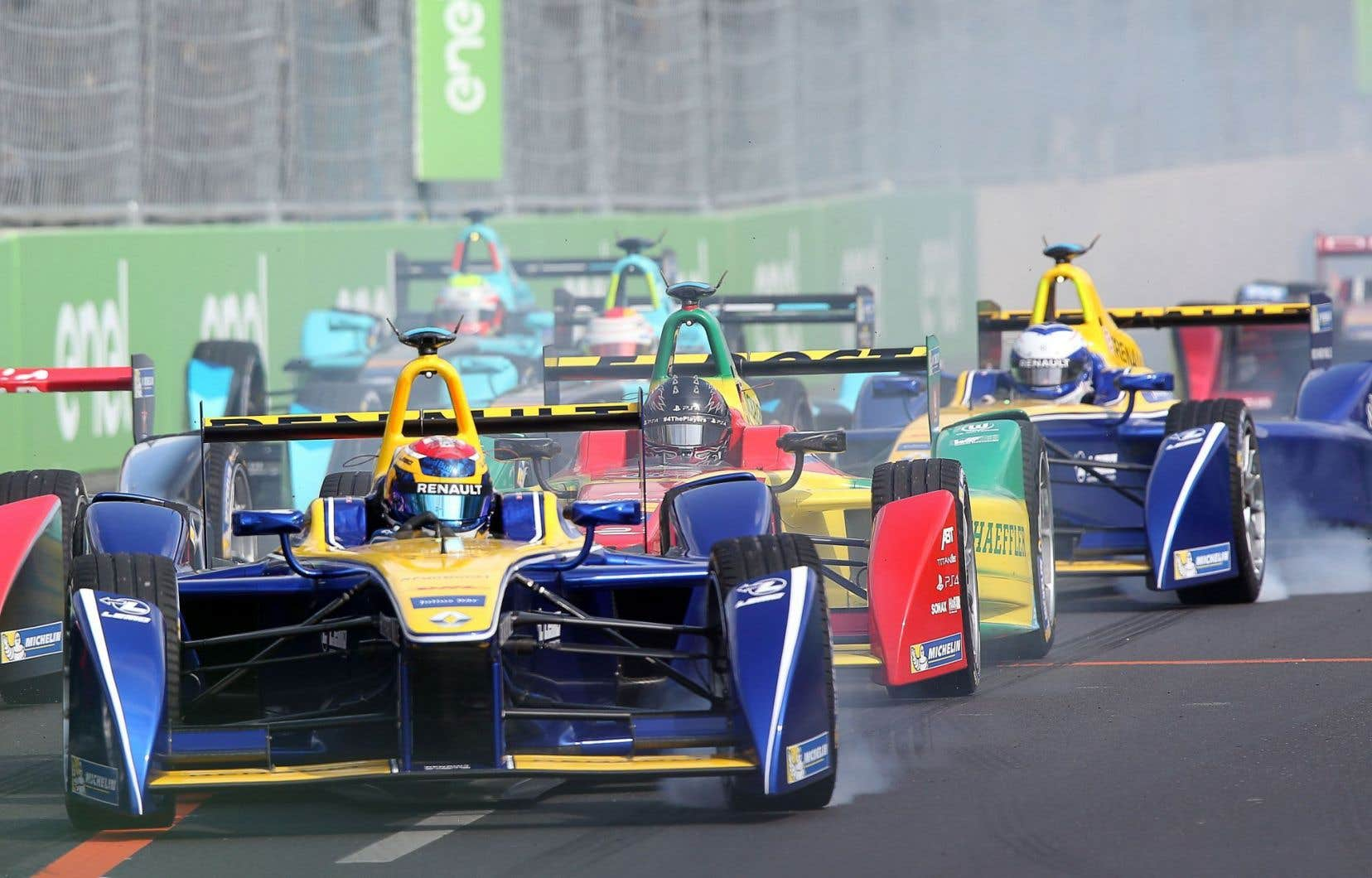Berlin accueille également une course de Formule E.