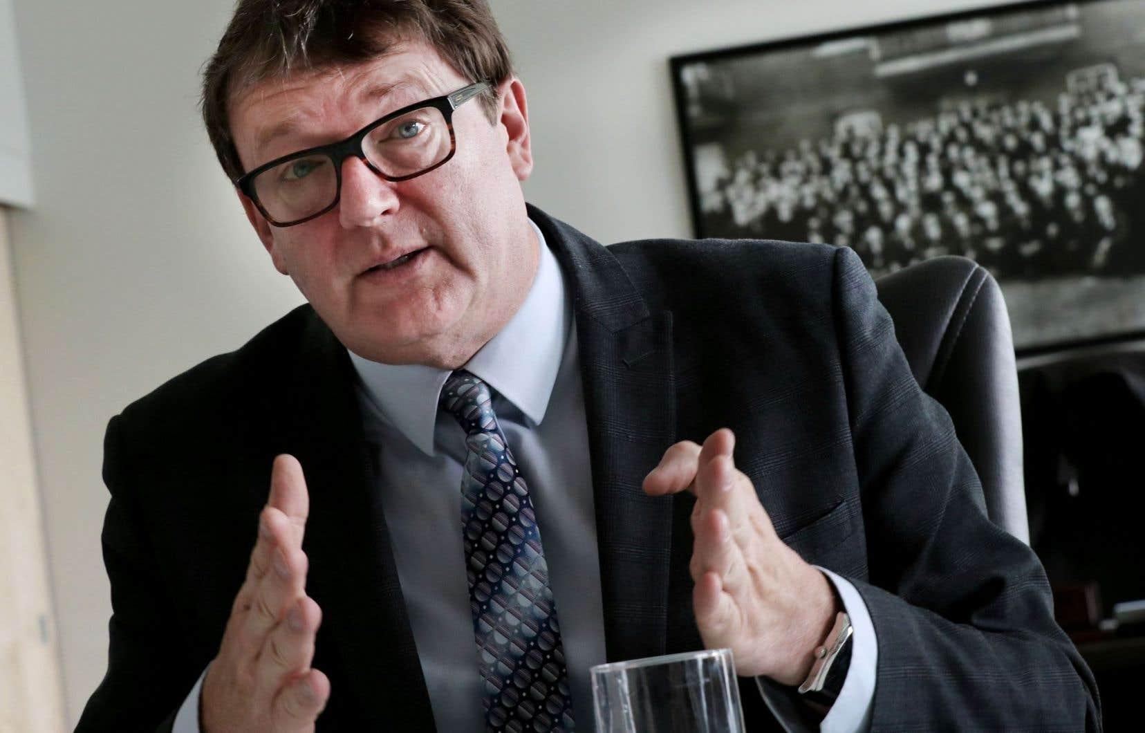 Jacques Létourneau a été réélu sans opposition.