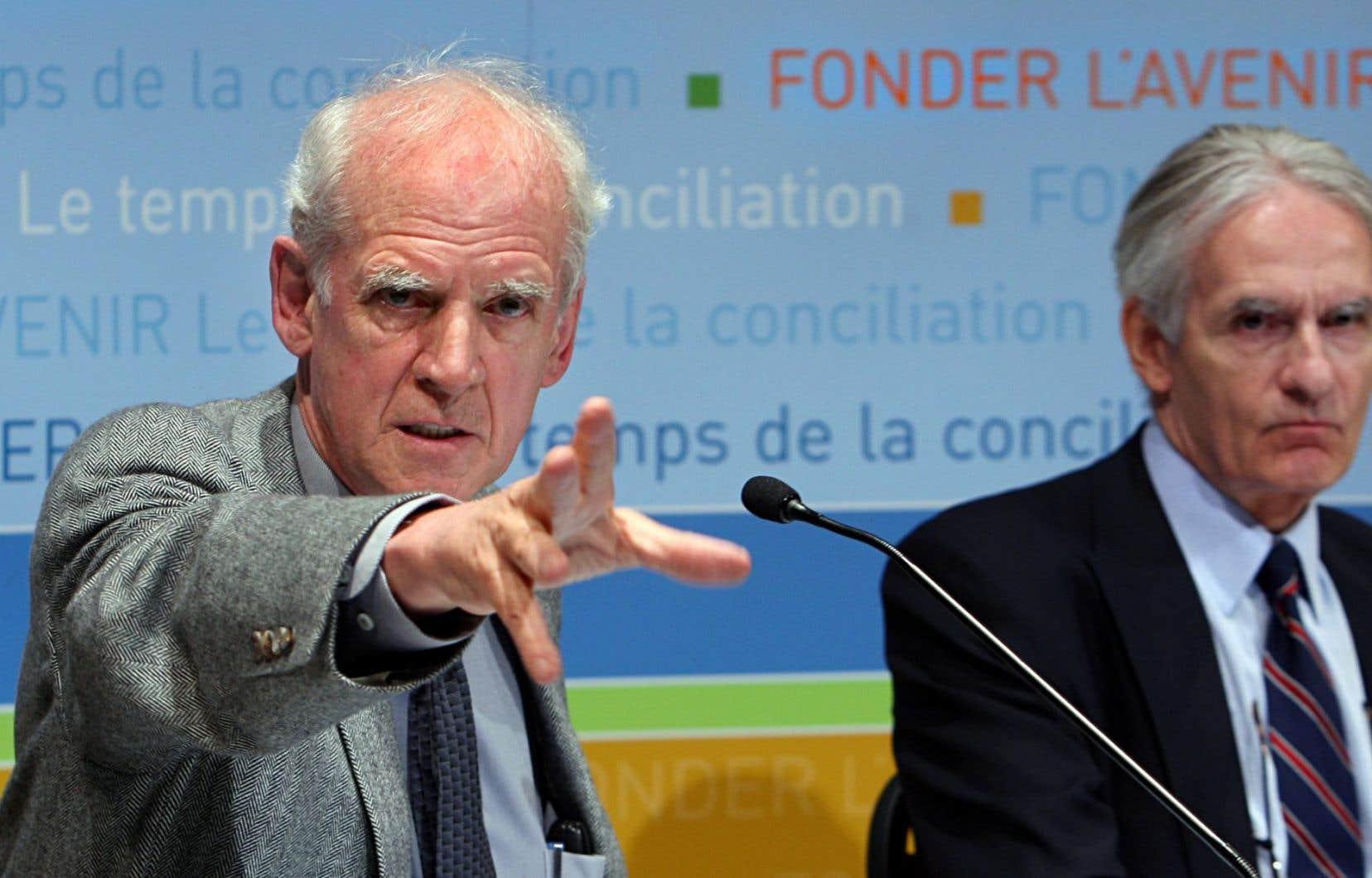 Charles Taylor et Gérard Bouchard onttous deux construit des oeuvres qui honorent le Québec et le Canada.