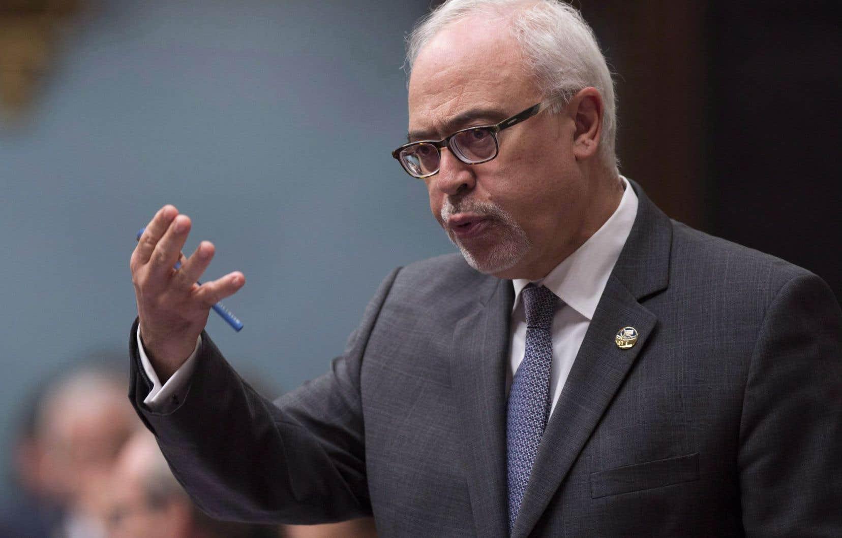 Le ministre des Finances Carlos Leitão